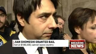 BREAKING: Jian Ghomeshi makes court appearance