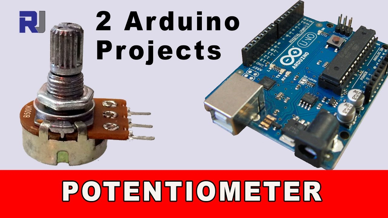 Reading Dc Voltage With Arduino With Potentiometer