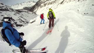 Chamonix-Mont-Blanc skiing adventure