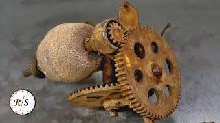 Hand Crank Grinder Tool Restoration