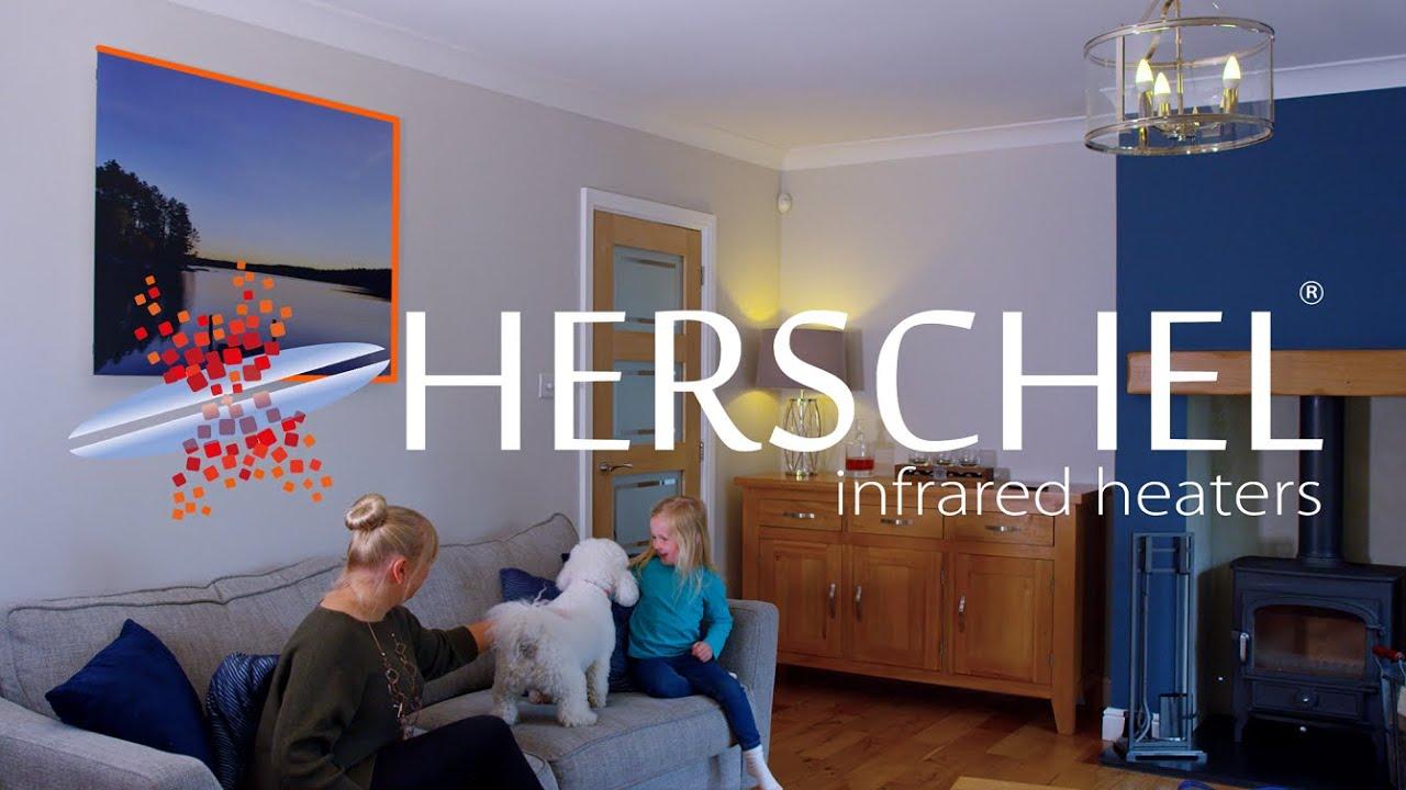 yoga studio using Herschel Infrared heaters