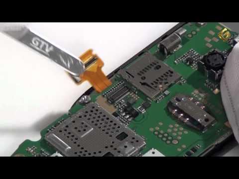 Nokia C2-05 - как разобрать телефон и из чего он состоит