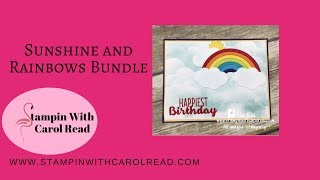 Sunshine and Rainbows stamp set by Stampin'Up!