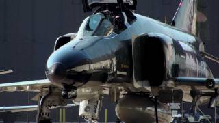 F4 Phantom Engine Start Up and Take Off