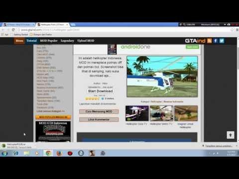 Cara Memasang Mod Di GTA San Andreas [PC] Cepat Dan Mudah!!!
