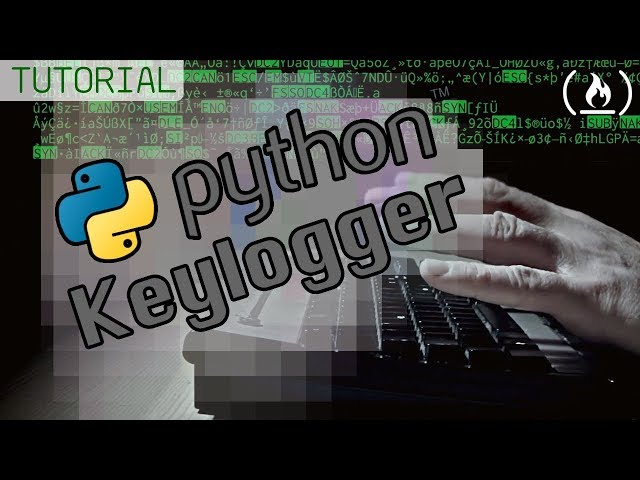 Create a Keylogger with Python - Tutorial