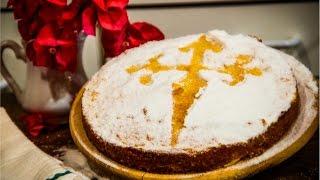 Sem Glúten e sem Lactose - Torta de Santiago - MARINA MOTT