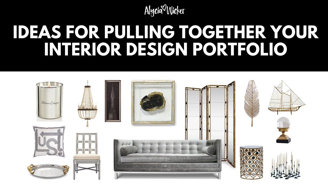 How to make an interior design portfolio youtube for Interior design portfolio