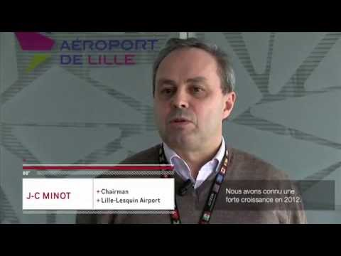Jean-Christophe Minot : managing director of Lille-Lesquin Airport