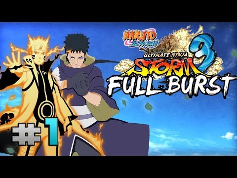 Naruto Shippuden Ultimate Ninja Storm 3 Full Burst | Gameplay