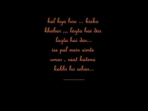 pal har pal full song with lyrics (lage raho munna bhai )