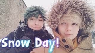 [ VLOG ] Snow day antics!