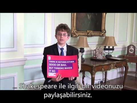 British Embassy School Ankara öğrencileri #ShakespeareLives kampanyasına destek veriyor 6/6