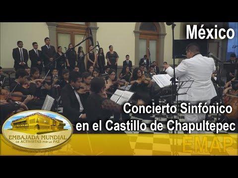 Concierto Sinfónico en el Castillo de Chapultepec - México   EMAP