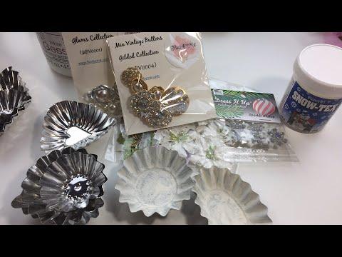 Live, DIY Christmas Ornaments & Decor/Tart Tin Ornaments