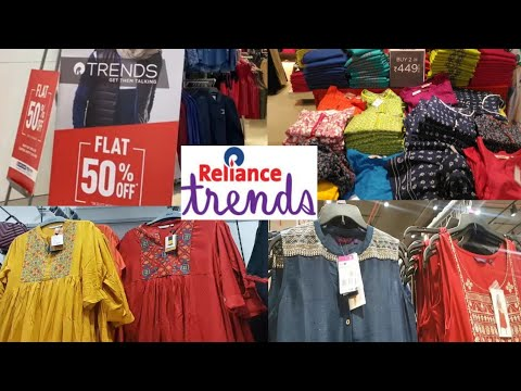 Trends Flat 50%Off Sale/Reliance Trends Latest Sale On Kurti Palazzo,Kids,Men/Heavy Discount