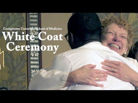 Class of 2020 Georgetown School of Medicine White Coat Ceremony