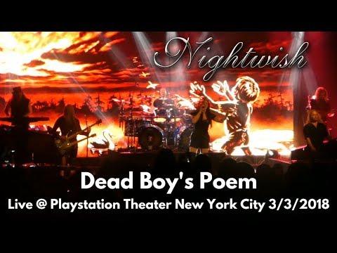 Nightwish - Dead Boy's Poem LIVE Playstation Theater New York City NY 3/14/18