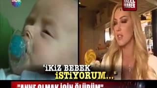 Show Haber  Petek Dinçöz Anne Olmak İçin Ölümü Göze Aldı