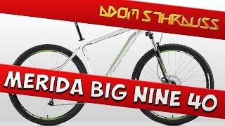 Видео обзоры MERIDA Big.Nine 40-MD