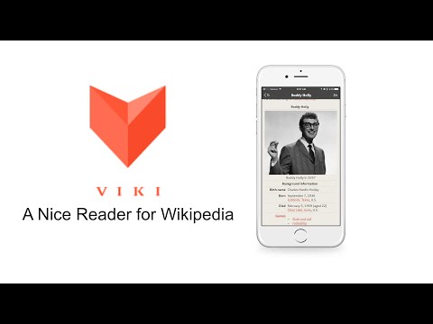 App Review: Viki - A Nice Reader for Wikipedia