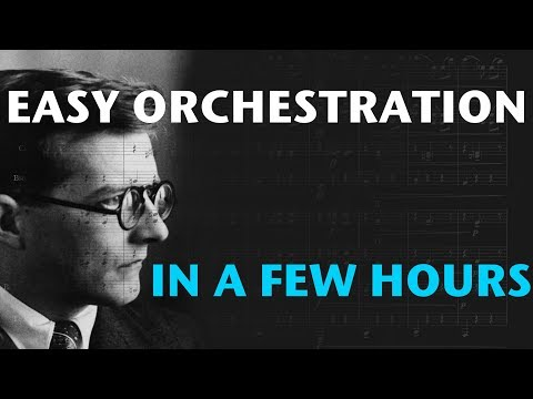 Easy Orchestration in a Few Hours