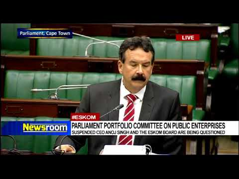 Eskom Inquiry, 5 December 2017 continuation