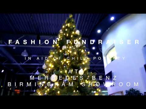 Fashion Fundraiser in aid of No Poverty 2020 at the Mercedes Benz Birmingham showroom