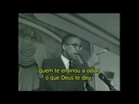 PARA REFLETIR: O DISCURSO DE MALCOLM X.