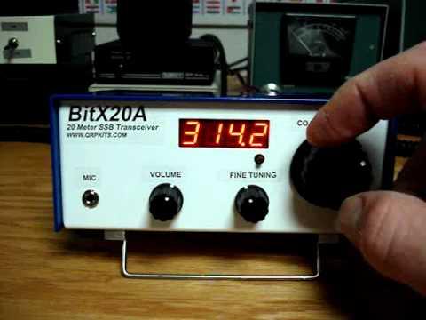 BITX20 Ham Radio Transceiver kit