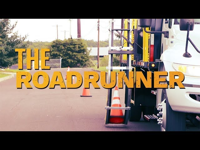 The Roadrunner - America's Best Automatic Cone Placement & Retrieval Truck