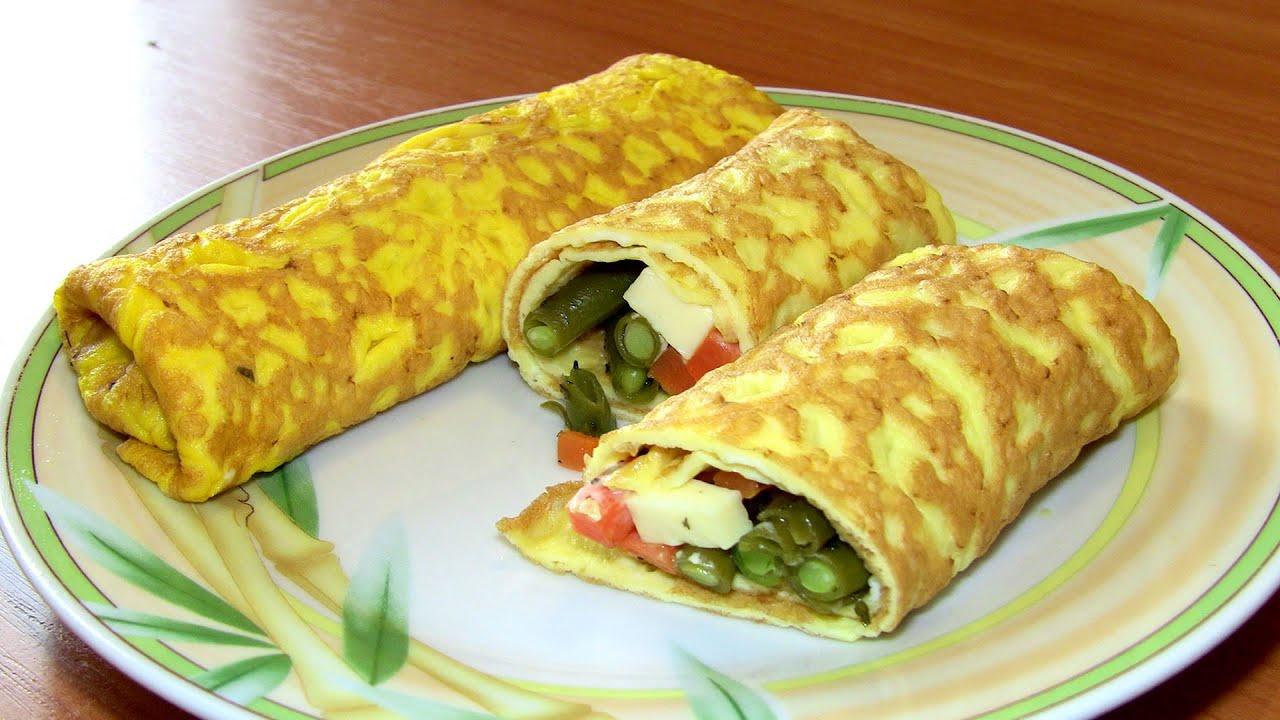 Рулет из яиц и майонеза в духовке