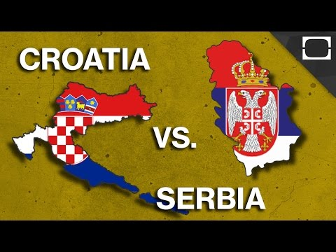 Why Do Croatia & Serbia Hate Each Other?