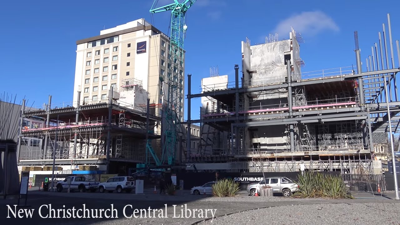 Christchurch Central News: New Christchurch Central Library (June Update)
