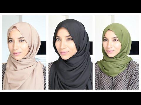 Shawl Hijab Tutorial / Indonesian Malaysian Style