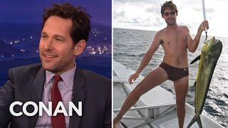 Paul Rudd Keeps Getting Confused For Other Guys - CONAN on TBS