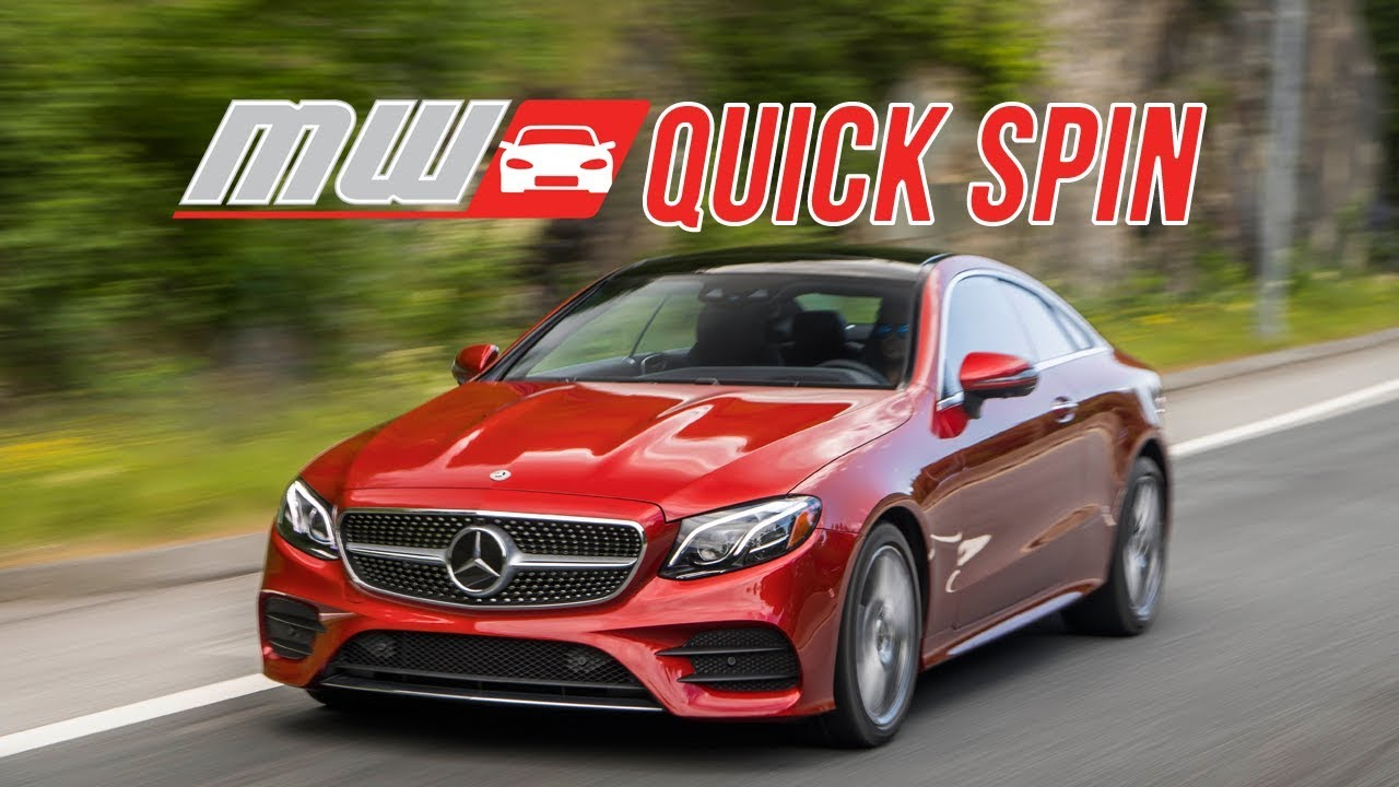 2018 Mercedes Benz E400 Coupe Quick Spin Youtube