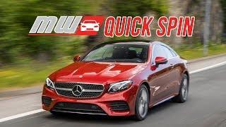 2018 Mercedes-Benz E400 Coupe | Quick Spin