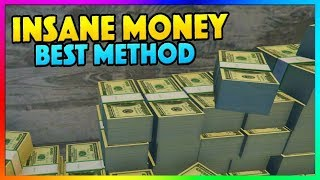 *BEST* UNLIMITED GTA ONLINE MONEY METHOD!!! - Make MILLIONS Fast & Easy PS4/XB1/PC