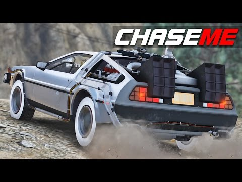 Chase Me E05 - Delorean Time Machine from Back to the Future Part 3