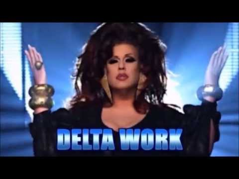 Delta Work - All Runway Looks On RPDR