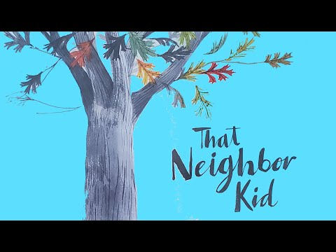 That Neighbor Kid - A Wordless Picture Book