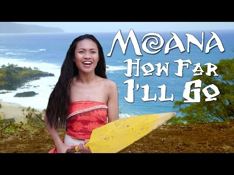 Disney's Moana - How Far I'll Go -...