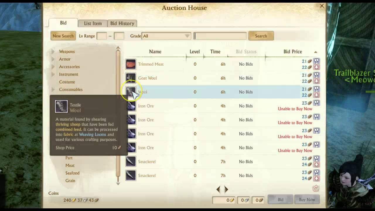 how to make money with a auction house archeage