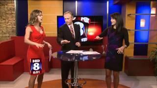 WGHP FOX 8: JILL WAGNER ON 5:00 NEWS
