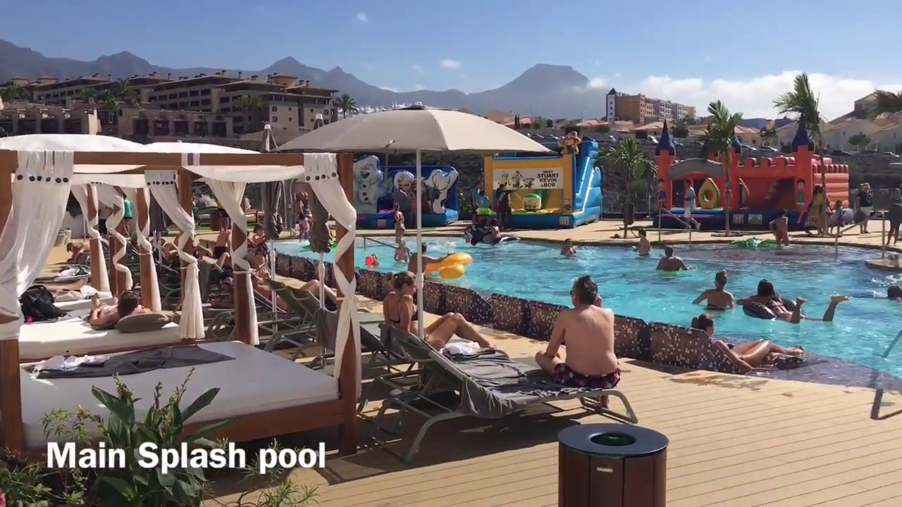 Hard Rock Hotel Tenerife Halloween 2016 Youtube