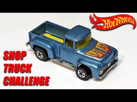 Shop Truck Challenge Build Off Custom Diecast '56 F-100