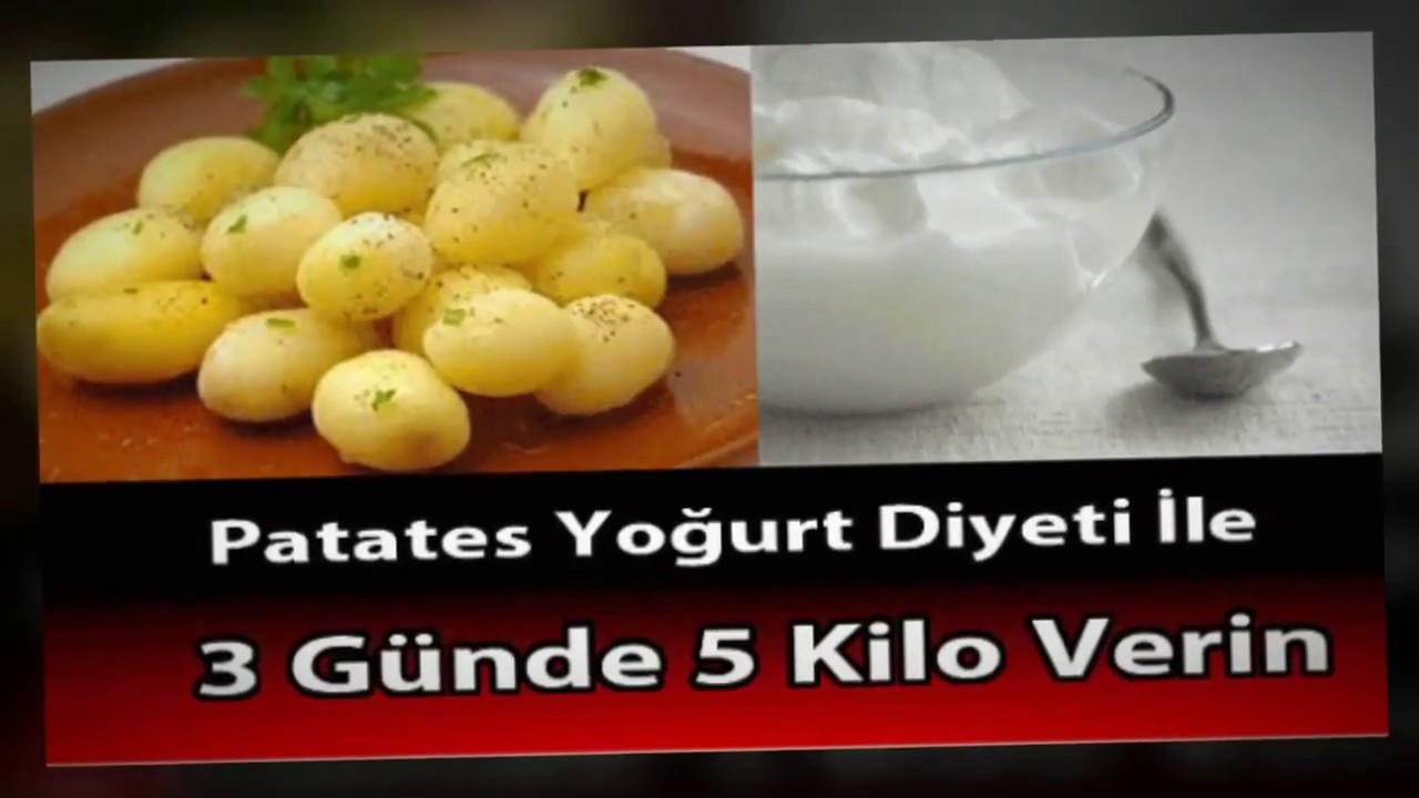 Patates Diyeti ile 3 Günde 5 Kilo