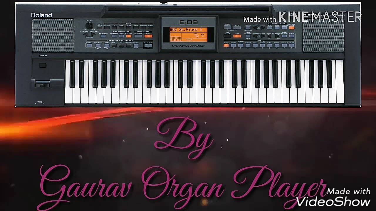 Roland E 09 Best Indian Tones Review by Gaurav Organ Player    8303724111