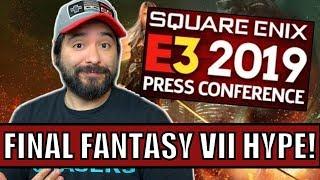 Square Enix E3 2019 : Final Fantasy VII HYPE!!
